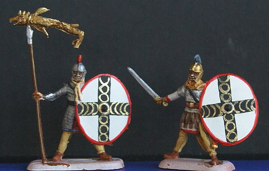 Infanterie lourde tardive romaine 1/72 Dsc05318