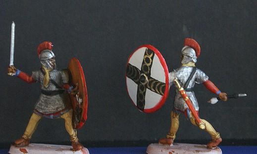 Infanterie lourde tardive romaine 1/72 Dsc05320