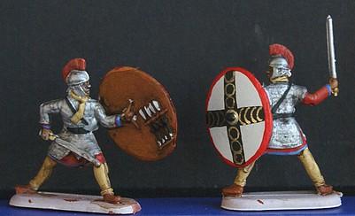 Infanterie lourde tardive romaine 1/72 Dsc05321