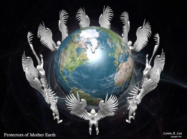 """""""Apportons notre lumière pour la paix dans le monde"""" - Page 2 Anges_10"""