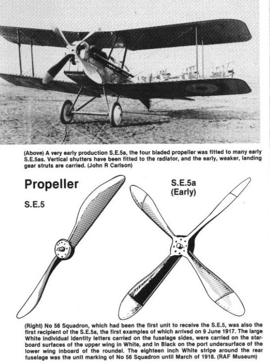 Royal Air factory - Prototype Royal Air Factory SE5 (maquette Pegasus 1/72) Heilic10