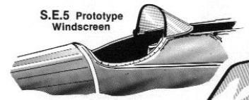 Royal Air factory - Prototype Royal Air Factory SE5 (maquette Pegasus 1/72) Pare-b10