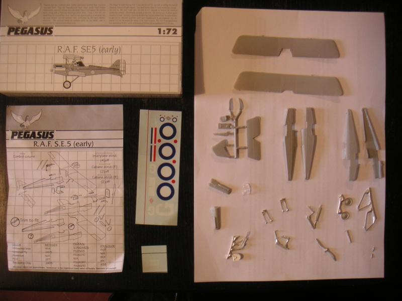 Royal Air factory - Prototype Royal Air Factory SE5 (maquette Pegasus 1/72) Pict0087