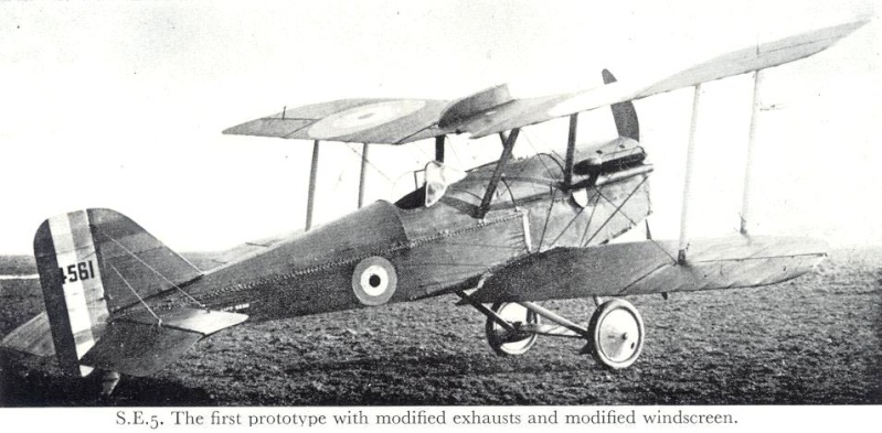 Prototype Royal Air Factory SE5 (maquette Pegasus 1/72) Se-5-a10