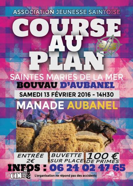 WL BIOU : COURSE AU PLAN STE MARIE DE LA MER 13 FEVRIER 2016 St-mar10