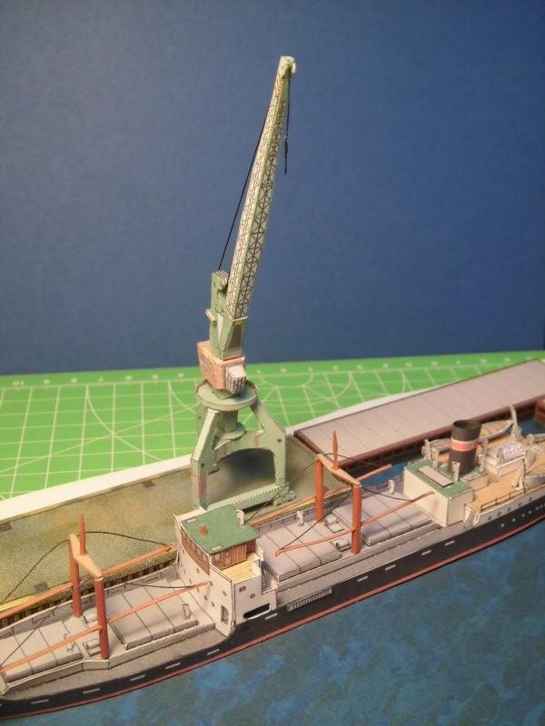Modulares Hafendiorama für Schiffe in 1:250 Cimg2523