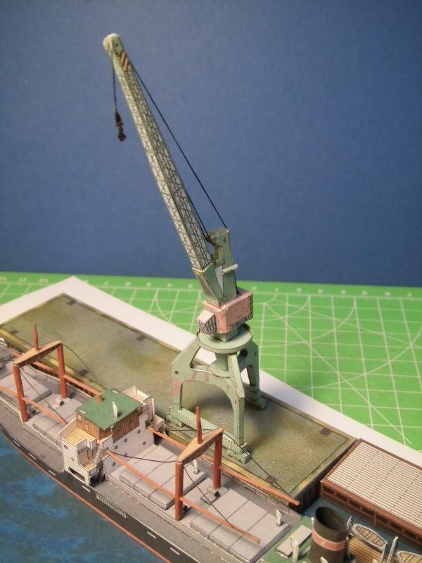 Modulares Hafendiorama für Schiffe in 1:250 Cimg2524