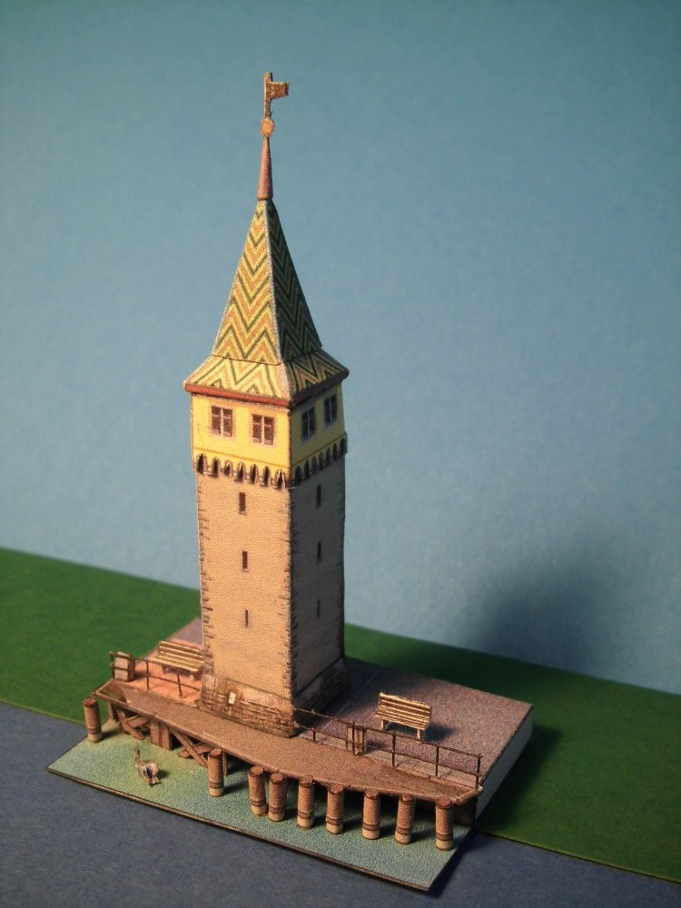 Mangturm in Lindau 1:250 Wediul.de Cimg2554