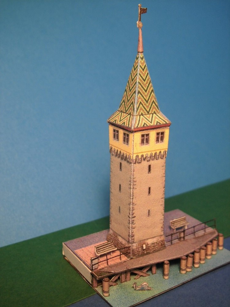 Mangturm in Lindau 1:250 Wediul.de Cimg2555