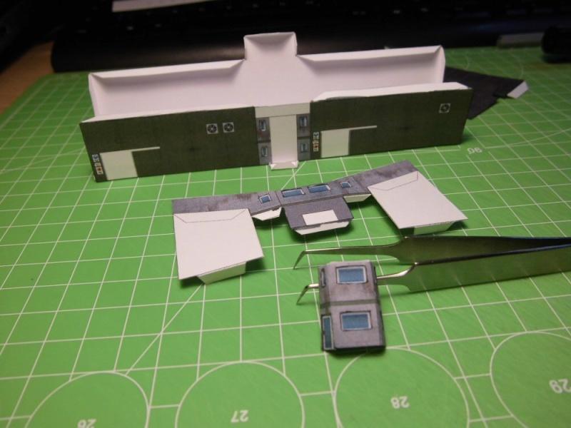 Modulares Hafendiorama für Schiffe in 1:250 Cimg2619