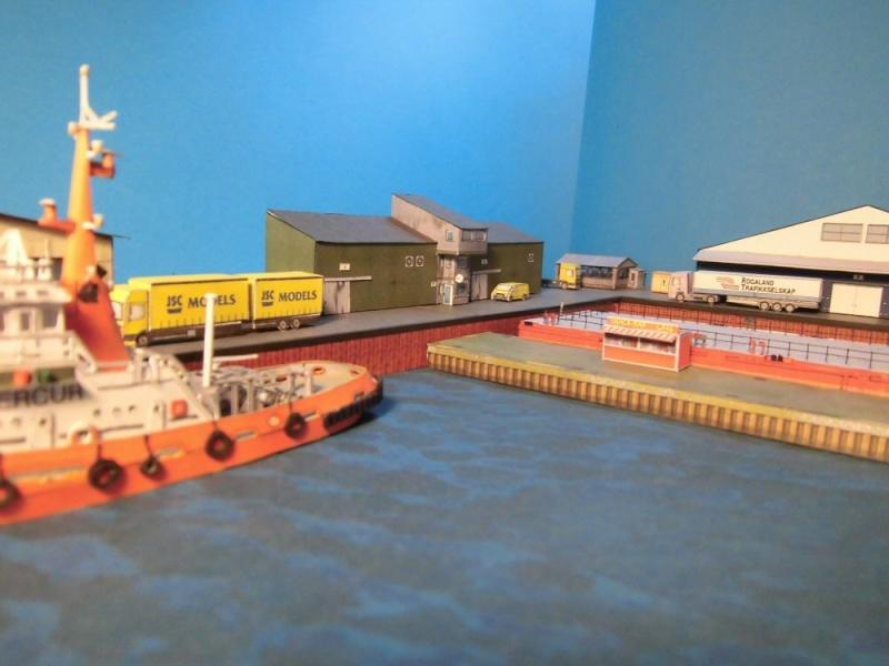 Modulares Hafendiorama für Schiffe in 1:250 Cimg2621
