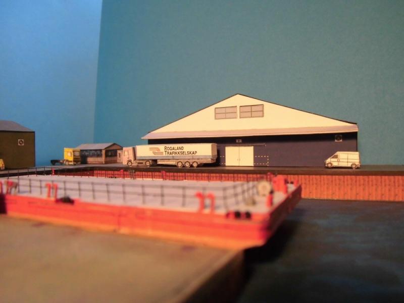 Modulares Hafendiorama für Schiffe in 1:250 Cimg2622