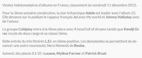 """Chiffres de ventes de """"De L'amour"""" - Page 3 Ventes10"""