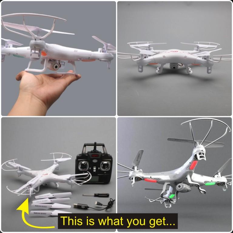 Bringing in some Drones Syma_110