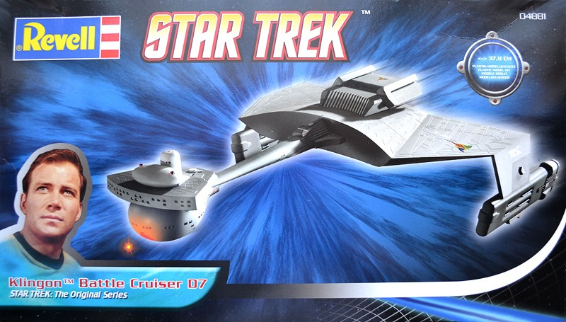 Klingon Battle Cruiser D7- REVELL Box20a10