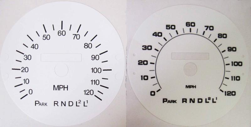 New white gauge faces White_11