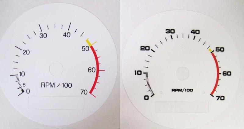 New white gauge faces White_12