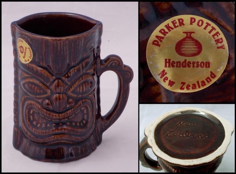 Parker Pottery Tiki mug for gallery Dscn0012