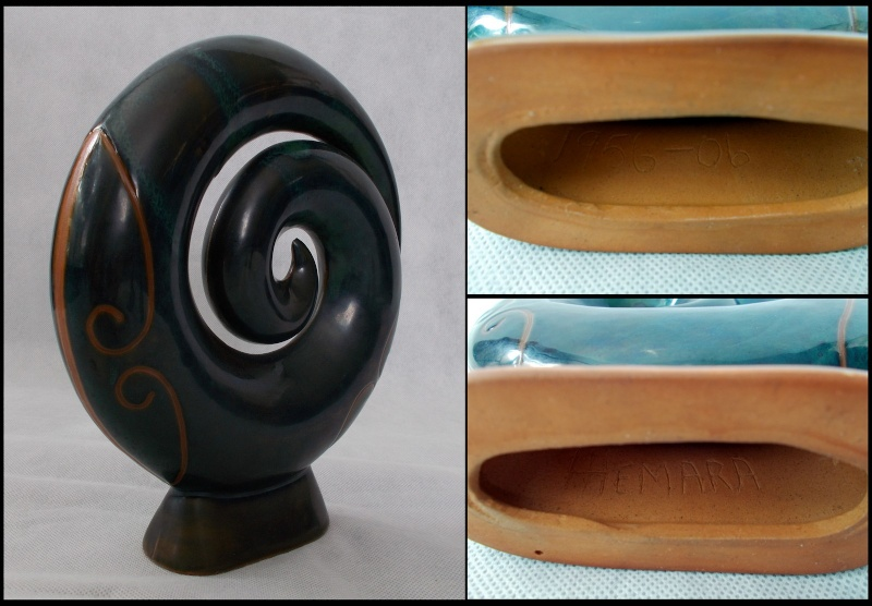 Hemara Hemara 50 years of working with pottery celebratery Koru Dscn7514