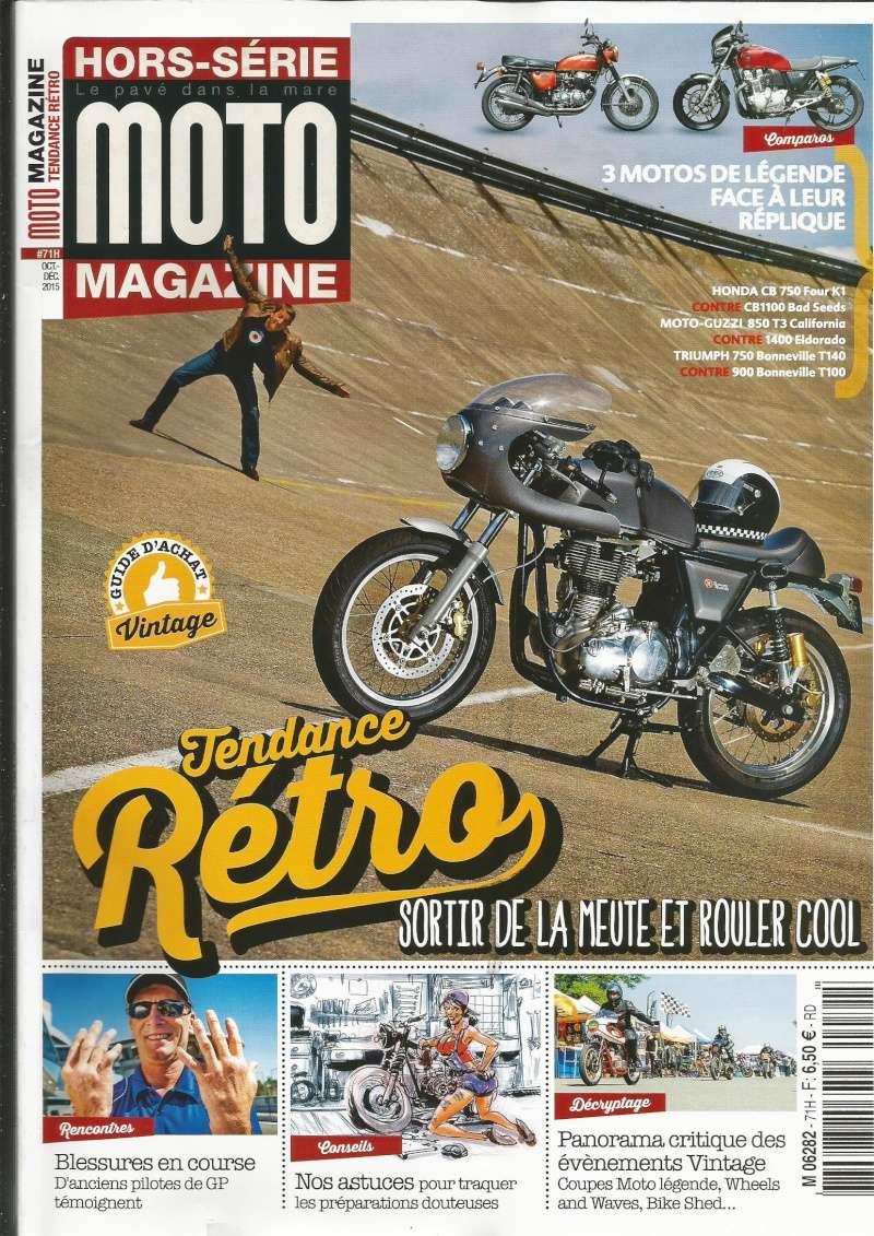 Hors-série Moto Magazine tendance Rétro.  Mg110