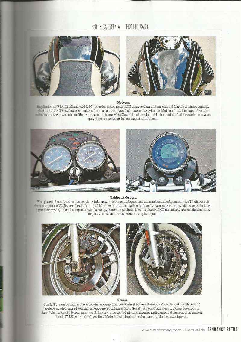 Hors-série Moto Magazine tendance Rétro.  Mg310