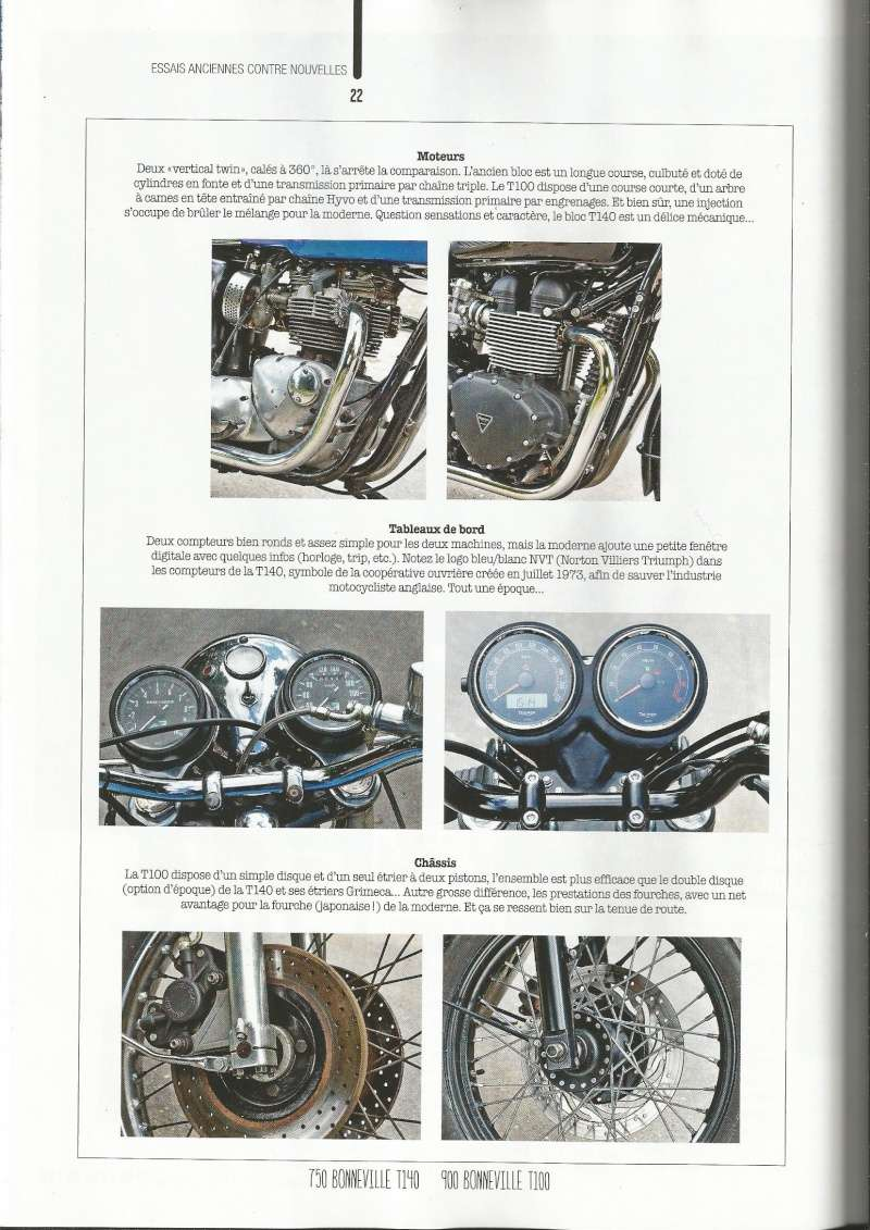 Hors-série Moto Magazine tendance Rétro.  Mg410