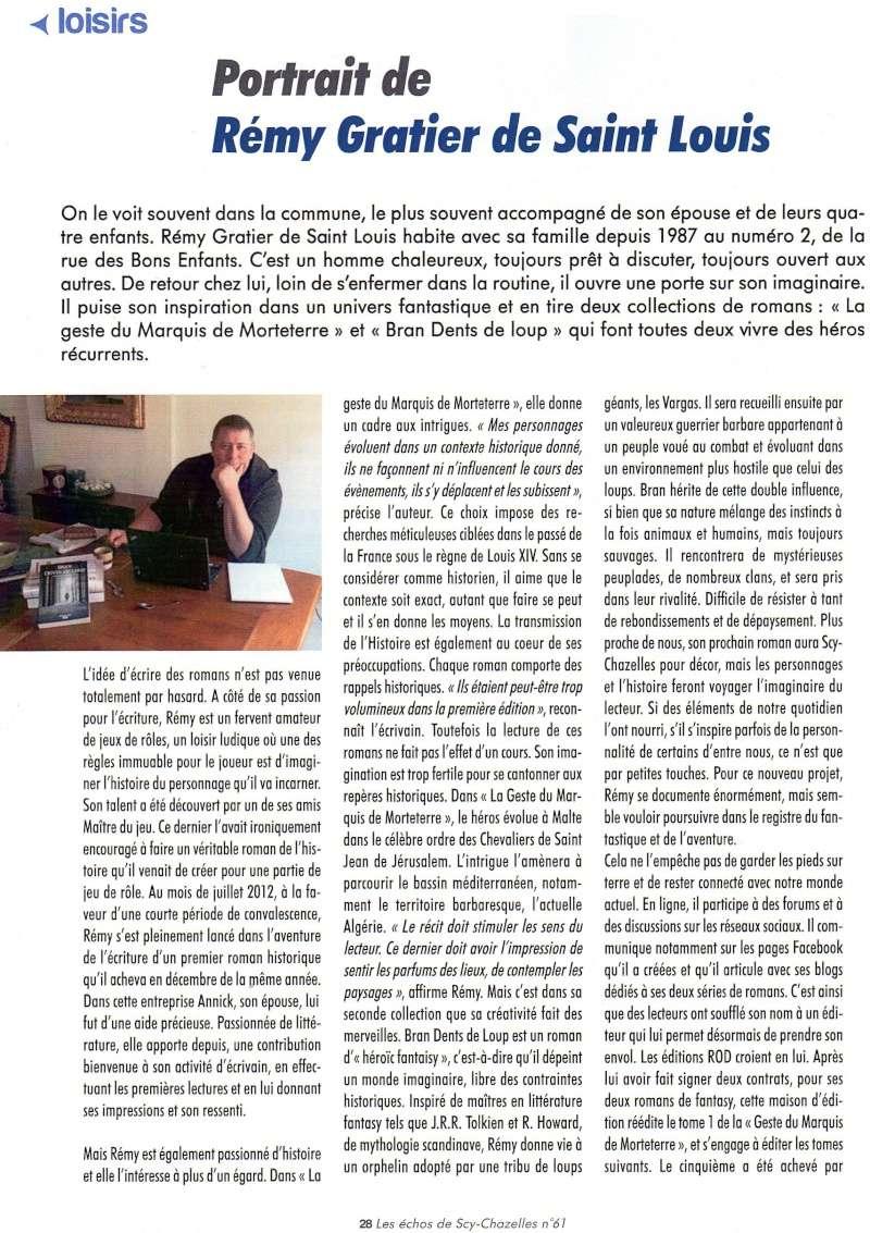 Bran Dents De Loup [Editions Rod] - Page 3 Articl10
