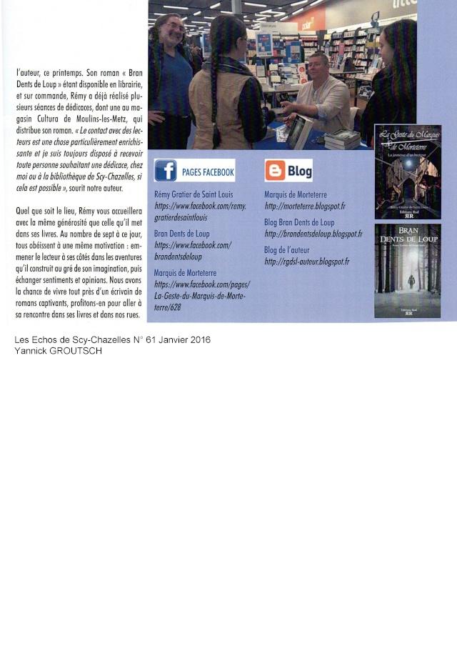 Bran Dents De Loup [Editions Rod] - Page 3 Articl11
