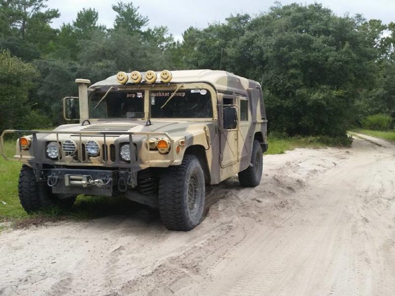 Au revoir Ma minimoke, adieu des casques de scaphandriers :2USA+2FRancais+1Italien,Bonjour HUMVEE M1097A2Profiler. Humvee12