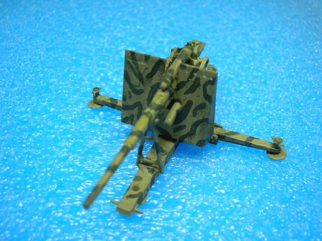 PAK 43 de 88 mm.  1/76--Airfix Dscn3813