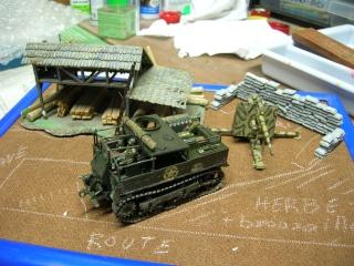 Prise de guerre automne 44 - Tracteur M5 (hasegawa) et Pak 43 de 88mm(airfix) --1/72 Dscn3917