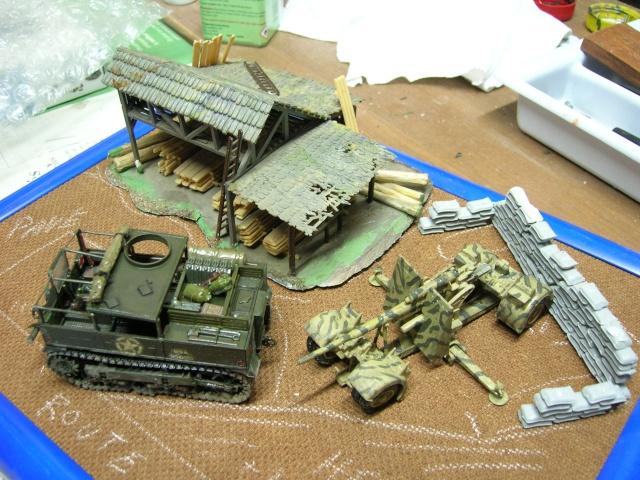 Prise de guerre automne 44 - Tracteur M5 (hasegawa) et Pak 43 de 88mm(airfix) --1/72 Dscn3918