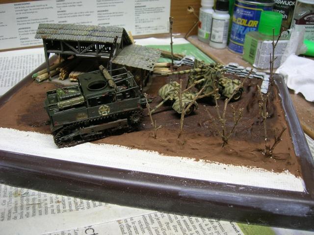 Prise de guerre automne 44 - Tracteur M5 (hasegawa) et Pak 43 de 88mm(airfix) --1/72 Dscn3920
