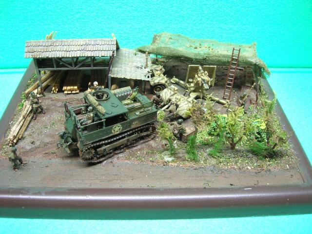 Prise de guerre automne 44 - Tracteur M5 (hasegawa) et Pak 43 de 88mm(airfix) --1/72 - Page 2 Maquet10