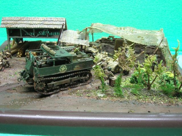 Prise de guerre automne 44 - Tracteur M5 (hasegawa) et Pak 43 de 88mm(airfix) --1/72 - Page 2 Photo_38