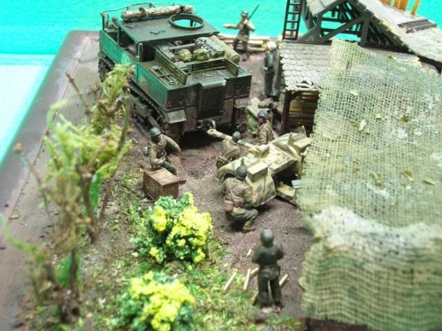 Prise de guerre automne 44 - Tracteur M5 (hasegawa) et Pak 43 de 88mm(airfix) --1/72 - Page 2 Photo_40