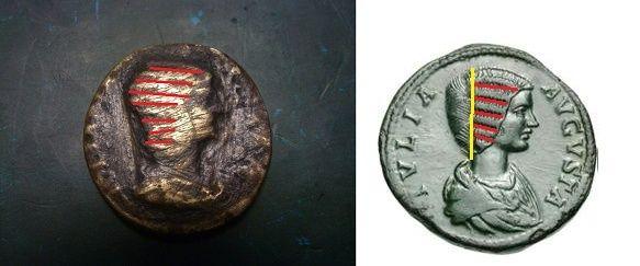 Deux romaines à identifier  Domna10
