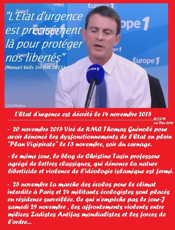 Attentats - Etat d'urgence : touche pas à ma Constitution ! Valls_10
