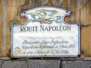 Route Napoléon à cheval Route-12