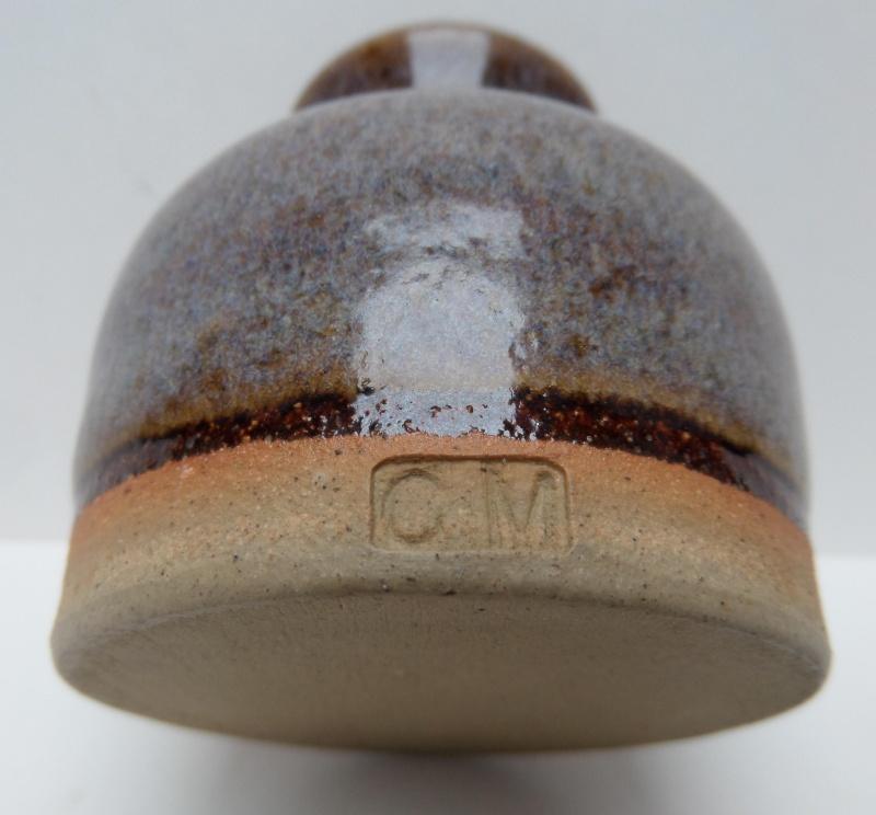 Clive Phillip Moore, Urmston Pottery - CM mark   Marksp12