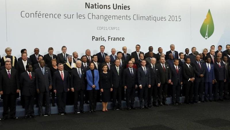 A la Une: l'ouverture de la COP21 2015-110