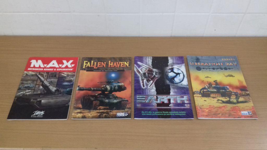 Manuels pour jeux PC 20190117