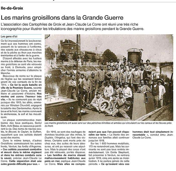 [ Histoires et histoire ] LE CENTENAIRE DE LA GRANDE GUERRE - Page 2 Captur11