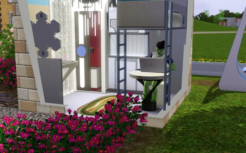 3 x 3 House Challenge! Let's do it!!! (Sims 1, 2, 3 & 4!) #Sims3x3House Screen10