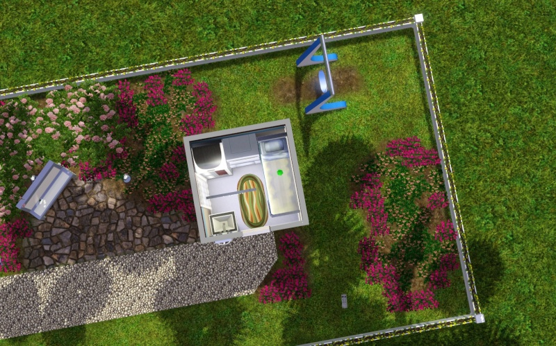 3 x 3 House Challenge! Let's do it!!! (Sims 1, 2, 3 & 4!) #Sims3x3House Screen13