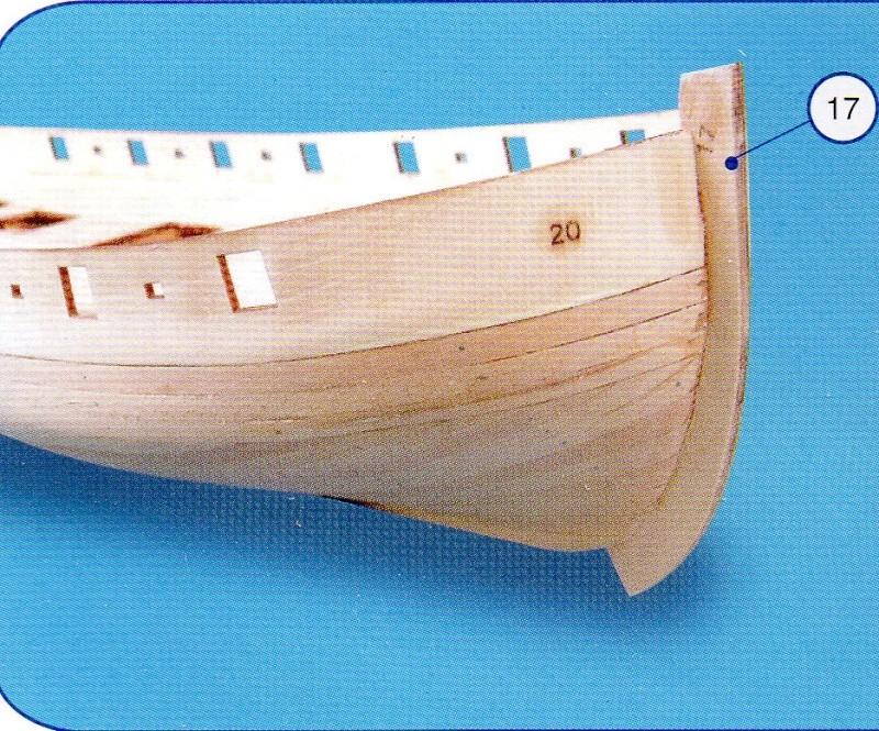 Le Renard échelle 1/50 kit Artesania Latina Img26610