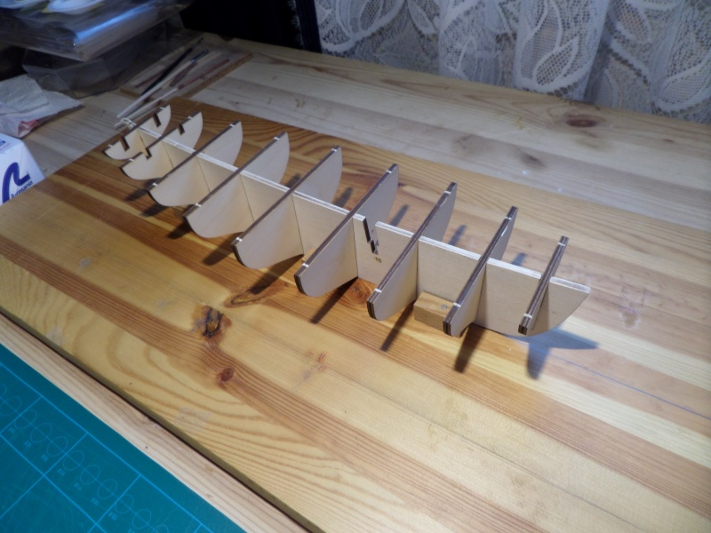 Le Renard échelle 1/50 kit Artesania Latina Sam_1519