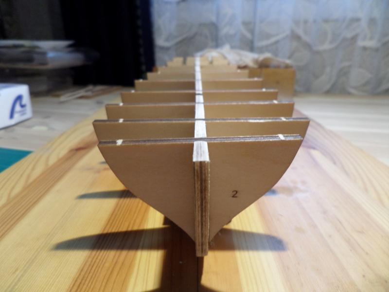 Le Renard échelle 1/50 kit Artesania Latina Sam_1520
