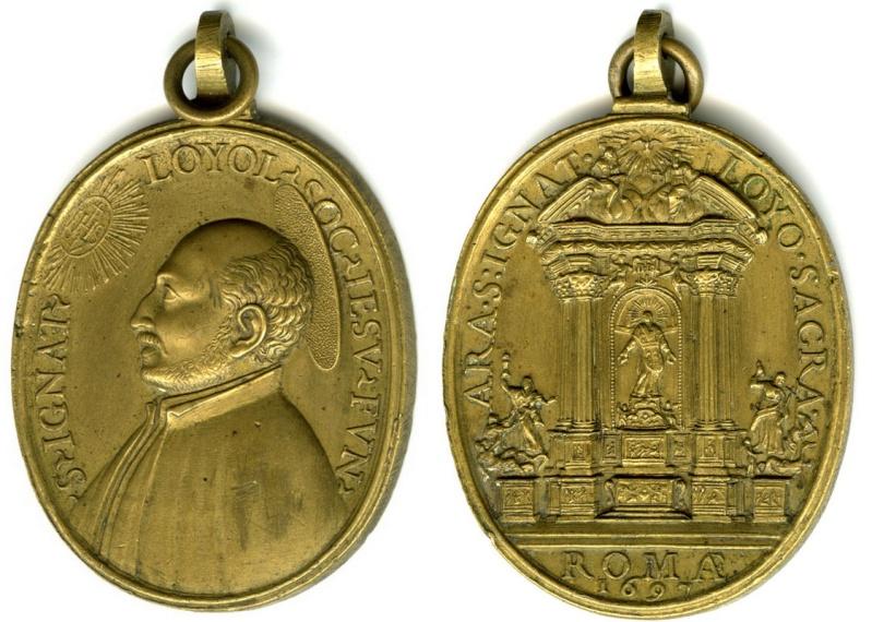 San Ignacio de Loyola / Altar de San Ignacio 1697  1697_i10