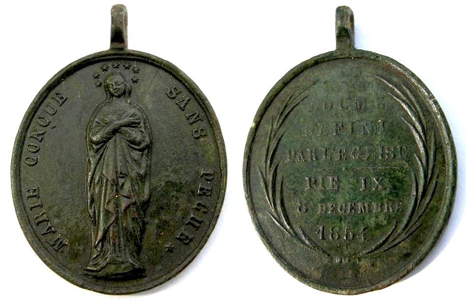 Inmaculada Concepción / Texto Dogma fechada 1854 1854_i10